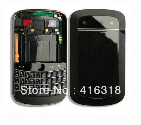 Original Black Full Housing For Blacberry Torch Bold 9900 Housing free shipping(China (Mainland))