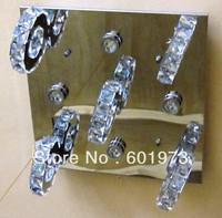 Free shipping 2013 New Design Hot Sell  Modern LED Energy Saving  Flush Mount Crystal Ceiling Lamp for Living Room 9209-20+4A