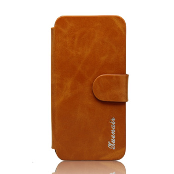 For iphone  5 cell phone case  for apple   5 wax or so open genuine leather fashion slammed holsteins
