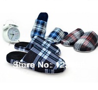 2013 NEW Men Cotton-padded Winter  Warm Slippers For Men Indoor Home  Slippers Free Shipping