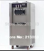 Professional soft ice cream machine / frozen yogurt machine ON SALE!! Tecumseh compressor 30L per hour