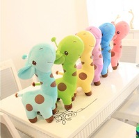 Free Shipping Lovely Giraffe Doll Plush Toy Birthday Gift Christmas Gift