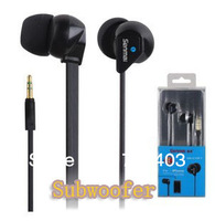 Free shipping SM - E1011 pleasant to hear type stereo headset mobile phone/MP3/computer earphones heavy bass earplugs headphones
