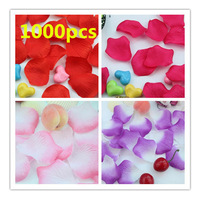 1000Pcs Multicolor Silk Flowers Rose Petals Wedding Party Decoration Favours 5cm[050219]