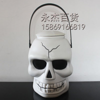 Halloween decoration pumpkin bucket lamp pumpkin lantern bar decoration masquerade party supplies
