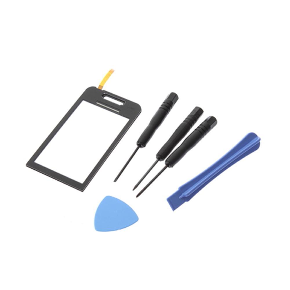 1 комплект для Samsung S5230 S5233 сенсорный экран планшета стекло инструменты черный + инструменты бесплатная / прямая поставка последние новинки