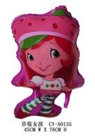 Balloon balloon cartoon ball space ball child balloon strawberry girl