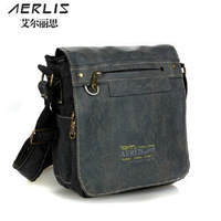 Man canvas shoulder cross-body casual man bag male backpack