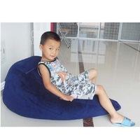 2012 hot kinds Bean Bag Blue bean bag Chair cover only blue bean bag chair Free shipping