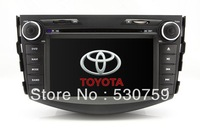 "7"" In Dash 2 Din Car DVD Player GPS Navigation for Toyota RAV4 2006-2012 + CAN Bus free MAP TV SWC AUX Audio Video Stereo Radio"