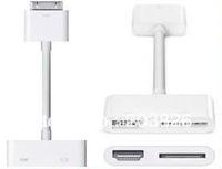 free shipping/ ipad2 to hdmi +30pin adapter