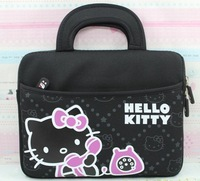 Free shipping new cartoon cute case cover For samsung galaxy tab 2 p5100 n8000 p5200 p7500 handbag kt cat 10.1 liner bag