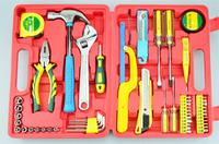 Free shipping, 63pcs set 46 sets chrome vanadium steel  tool wrench set of hardware tools Metal toolbox