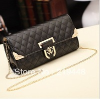 2013 Korean Version of the Plaid Quilted Chain Bag Fashion Wild Temperament Female Shoulder  Diagonal Bag
