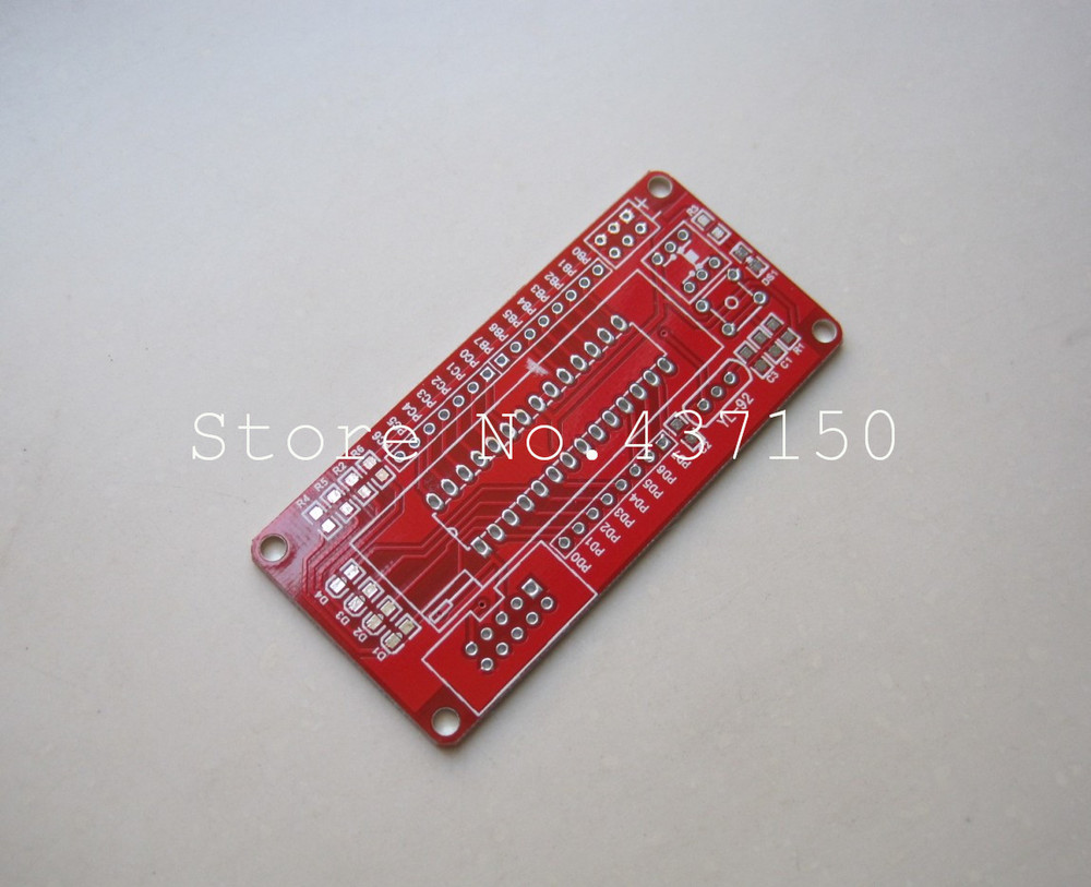 Minimum system board ATmega8 AVR microcontroller minimum system board PCB bare board [ manufacturers](China (Mainland))