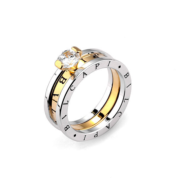 HOT SELLING,18k real Gold plated Jewelry Italy brand SWA ELEMENTS Austrian Crystals Lettering stylish Ring,Full Sizes ,R1004-01(China (Mainland))