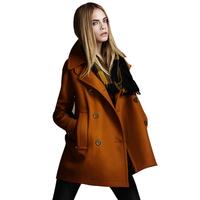 Overcoat 2013 woolen outerwear female medium-long woolen overcoat fashion
