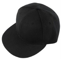 adult /men snapback blank black baseball caps /Hip-hop hat free shipping .wholesale.