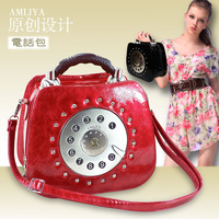 2013 spring and summer women's handbag fashion vintage fashion one shoulder cross-body portable women's handbag phone bag