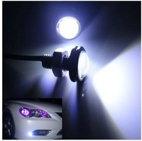 Free shipping Car decoration new ultra-thin eagle eye lamp screw rogue line back-up light led back light, light