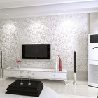 Free Shipping 5.3 Square Wallpaper Modern PVC 3D R79(China (Mainland))