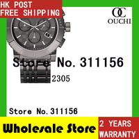 Christmas Gift Free Shipping Fashion original top luxury brand Mens watches BU2305 men full steel sports fashion casual watch