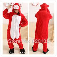 Free Shipping 2014 Hot Selling Animal Adult Onesies Jumpsuit Cosplay Pajamas Ali Fox Hoodies Costume Pyjamas Retail/Wholesale