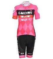 Dropship 2013 Ladies Pro Team Short Sleeve Cycling Jerseys & Shorts Set, Cycling Wear, Cycling Clothing for Women