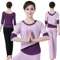 Jinnah 2013 Brahma song spring and summer yoga clothes piece set 16065 subalpine 16055 10133 subalpine deep purple