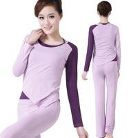 Jinnah 2013 Brahma song spring and summer yoga clothes piece set double 16026 13029 10133 subalpine deep purple
