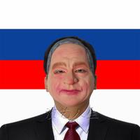 Free Shipping Putin mask male latex mask star mask dance party mask