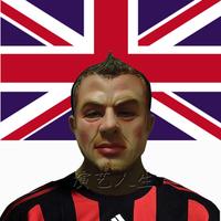 Free Shipping Beckham mask male latex mask star mask dance party mask