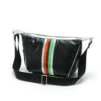 New 2013 Fashion casual sports women messenger bag  women'shandbag black