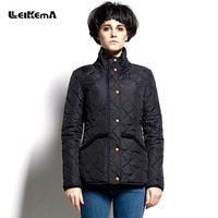 Slim wadded jacket autumn and winter women coat stand collar top 2013 thermal cotton-padded jacket