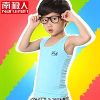 Children's clothing child vest summer basic shirt male female child baby new arrival