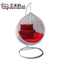 Indoor and outdoor rocking chair bird nest rattan swing hanging basket hanging chair rattan chair rattan hanging basket
