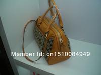 Fasionable Genuine leather lady shouldbag; Genuine leather shouldbag for women; Genuine leather lady handbag