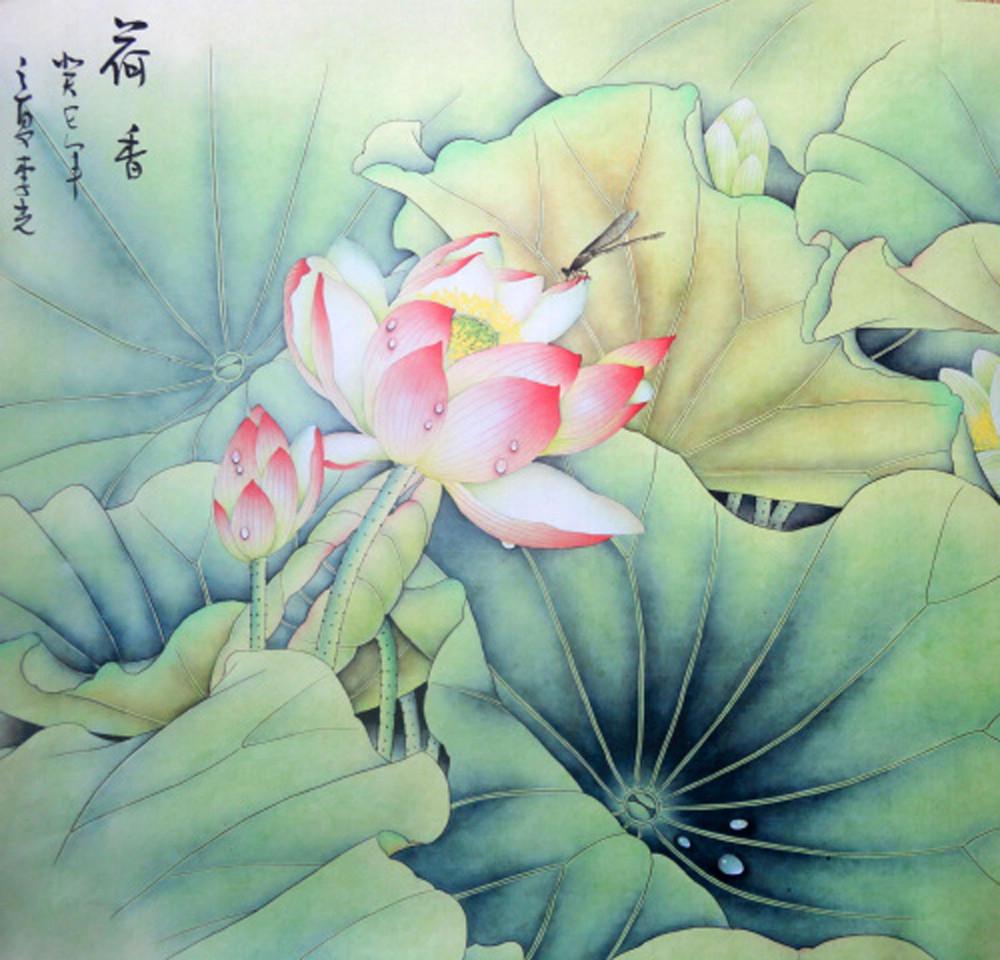 Asian Art Flowers 99