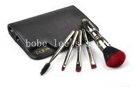 Free shipping  Makeup Tools 5pcs High-grade Makeup Brush Classical Black  Makeup Brush Set  P511
