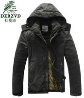 2014 Top Quality Men Winter and Autumn Outdoor Warm Brand Jackets Hoody Men's Coat Hoodies Jacket Army Sportwear Mens Overcoat