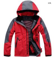 Free shipping men's outdoor sports jacket / outdoor climbing jacket ski jacket Men's Sizes : S - XXL