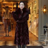 coat mink Sheep 2014 marten fur coat overcoat female long design mink fight mink fur coat fur coats jackets furs real fox fur