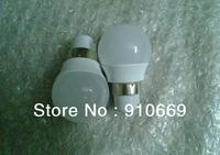 plastics(10pcs/lot)3w LED ball bulbs SMD3014 220Vac  base E27/GU10/B22 wholesale buy now