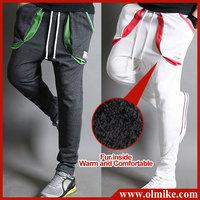 Wholesale & Retails 2014 Fall New Men's Cool Fur Side Pants Casual Trousers Jogging Rope Haren Slacks 4 color M-XXL C536