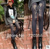 Small P hai more romantic only beautiful fake meat double warm trousers10.3-5