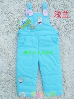 Baby thick down pants adjustable bib pants jumpsuit a1069