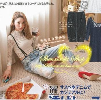 Vivi9 s crochet patchwork cutout lace tube top short design lace shirt basic top
