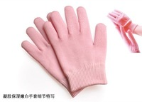 HOT Anti-Slip Rubber Plush Soft Warm Jelly-Whitening gel moisturizing gloves