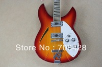 free shipping Wholesale Newest sunburst  Rick 330 325 Classic 6 Strings Electric Guitar High Quality