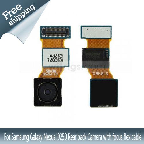For Samsung Galaxy Nexus i9250 Rear back Camera with focus flex cable 100% Gurantee original Free shipping(China (Mainland))